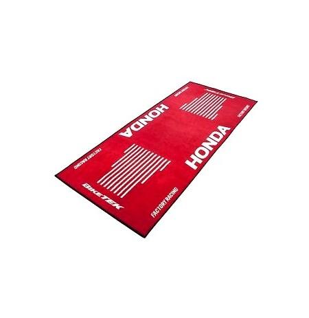 Tapis d'atelier marquage HONDA rouge